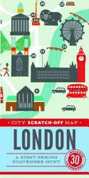 City Scratch Off Map  London