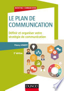 Le plan de communication   5e   d