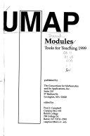 UMAP Models  Tools for Teaching
