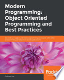 Modern Programming Object Oriented Programming And Best Practices