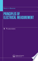 Principles of Electrical Measurement