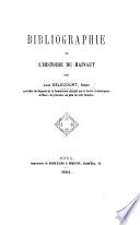 Bibliographie de l'histoire du Hainaut. (Extrait des Annales du Cercle archéologique de Mons.).