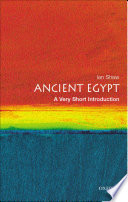 Ancient Egypt A Very Short Introduction