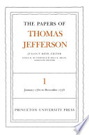The Papers of Thomas Jefferson  Volume 1 Book PDF