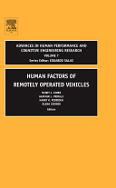 Human Factors of Remotely Operated Vehicles