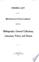 Finding list of the Minneapolis Public Library