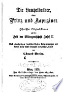 """""""Die"""" Lampelbrüder, oder: Prinz und Kapuziner"""