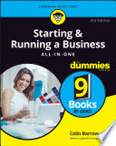Starting and Running a Business All in One For Dummies