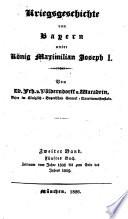 Kreigsgeschichte von Bayern unter König Maximilian Joseph I.: Zeitraum vom Jahre 1808 bis zum Ende des Jahres 1809