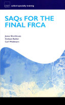 SAQs for the Final FRCA