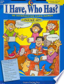 I Have  Who Has  Language Arts  Gr  3 4  eBook
