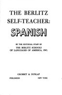 Berlitz Self Teacher Spanish