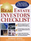 Real Estate Investor S Checklist