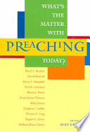 What s the Matter with Preaching Today
