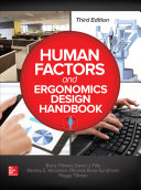Human Factors and Ergonomics Design Handbook  Third Edition