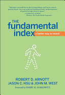download ebook the fundamental index pdf epub