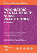 Psychiatric Mental Health Nurse Practitioner Review And Resource Manual