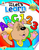 The Big Let S Learn Book Grades Pk 1