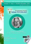 The International Journal of Indian Psychology, Volume 4, Issue 1, No. 81 Pdf/ePub eBook