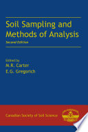 Soil Sampling And Methods Of Analysis Second Edition book