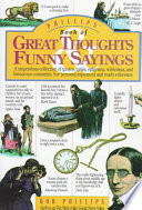 Phillips  Book of Great Thoughts  Funny Sayings