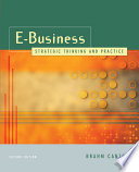 E Business  Strategic Thinking and Practice