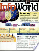 InfoWorld : into channels and topic centers. infoworld...