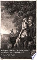 Érotopsie, ou Coup-d'œil sur la poésie érotique, et les poètes grecs et latins qui se sont distingués en ce genre