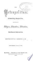 The Metropolitan Book PDF