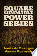 Square Summable Power Series
