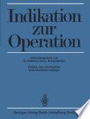 Indikation zur Operation
