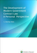The Development of Modern Government Contract Law