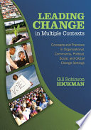 Leading Change in Multiple Contexts