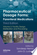 Pharmaceutical Dosage Forms Parenteral Medications