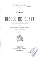 I viaggi di Nicol   de  Conti