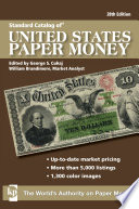 Standard Catalog of U S  Paper Money