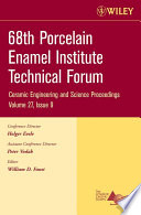 68th Porcelain Enamel Institute Technical Forum, Volume 27 Issue 9