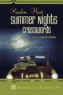 Random House Summer Nights Crosswords