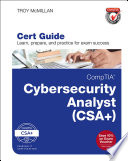 Comptia Cybersecurity Analyst Csa Cert Guide