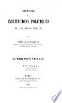 La monarchie franque