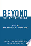 The Beyond the Triple Bottom Line