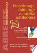 Endocrinologie  diab  tologie et maladies m  taboliques