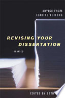 Revising Your Dissertation book