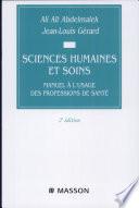 Sciences humaines et soins