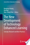 The New Development Of Technology Enhanced Learning book