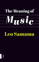 The meaning of music By Music From Lullabies To Radio To
