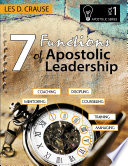 7 Functions Of Apostolic Leadership Vol 1 Mentoring Coaching Discipling Counseling Training Managing