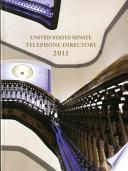 United States Senate Telephone Directory 2011