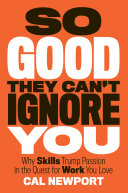 download ebook so good they can\'t ignore you pdf epub