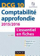 DCG 10   Comptabilit   approfondie 2015 2016